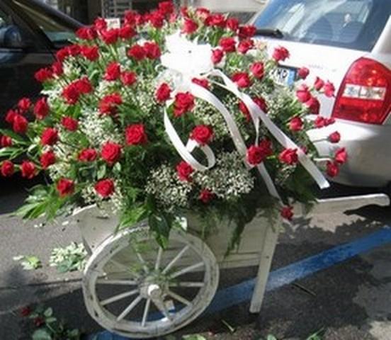 spesso Addobbi floreali matrimoni - decorazioni floreali RO41